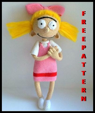 free amigurumi doll